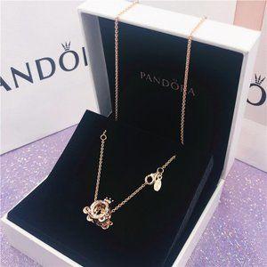 🎆NWT Pandora Classic Crown Clavicle Chain